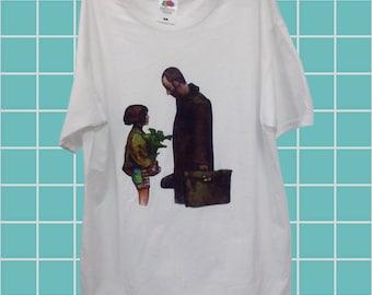 Leon The Professional Hipster Mathilda Grunge Pinterest Aesthetic 90s t shirt