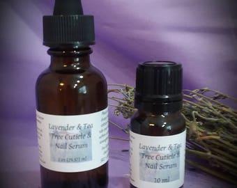 Lavender Tea Tree Cuticle & Nail Serum