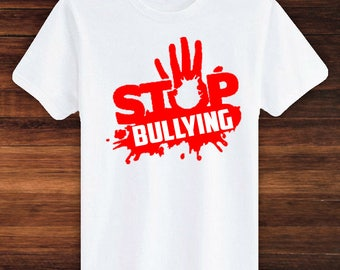 STOP BULLYING | Stand Up, Speak Up! Support for Bullying, Anti-Bullying, Say No to Bullies, Pink Shirt Day, Anti-Bullying Movement