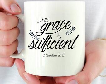 Bible verse gift, Bible verse mug, scripture gift, christian coffee mug, christian gift, scripture mug, mug with verse, inspirational cup