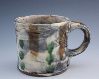 Mug - Sarah Matesz Pottery - Wheel Thrown - Hand Painted