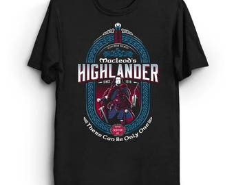 Macleod's Scottish Ale - Highlander T-Shirt | Beer Label T-Shirt