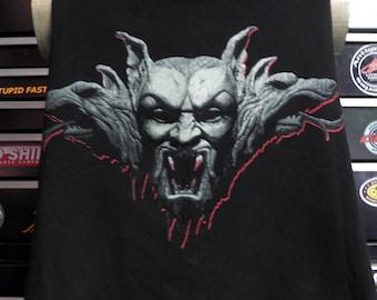 Dracula Vintage t shirt Bram Stoker's Dracula Horror Movie Gothic Clothing - Crop Top Vintage 1992 Bram Stoker's Dracula