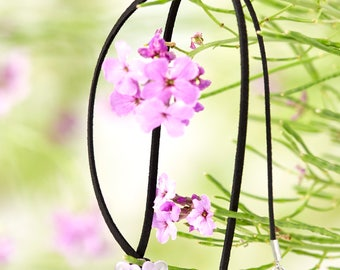 Purple Flower Necklace | Malibu Collection