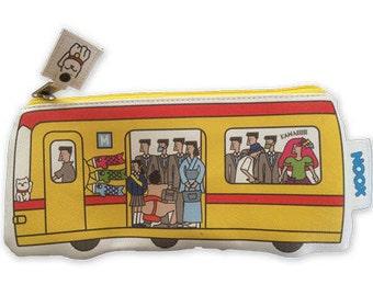 Zipper pouch Tokyo Metro