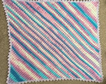 Crochet Baby Blanket 70cm x 78cm