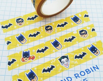 Batman and Robin Washi Tape