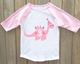 girls birthday shirt, dinosaur birthday shirt, dinosaur birthday shirt girls, girls dinosaur birthday, dinosaur shirt, dinosaur birthday