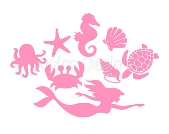 Under The Sea SVG FILE