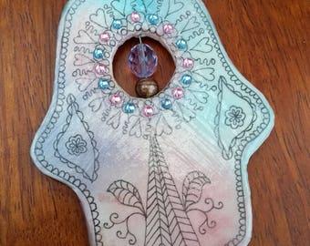 Hamsa wall ornament