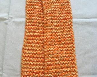 Orange and Yellow Scarf