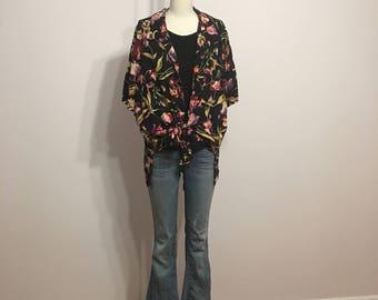 1990s Floral Shirt