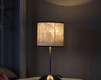 3D Printed Lithophane Forest Scene Lampshade