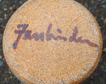 John Fassbinder Northwest Studio Pottery Pitcher