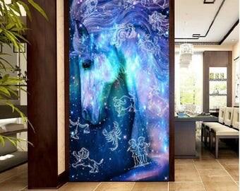 DIY Diamond Embroidery Fantasy Constellation Unicorn Mosaic Set Animal Picture Painting Square Diamond Drill