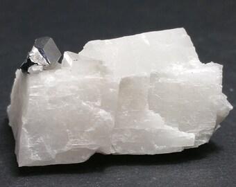 Carollit Crystal on matrix, small stage, Shaba, Congo, minerals