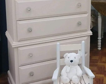 Light pink dresser local pick up only