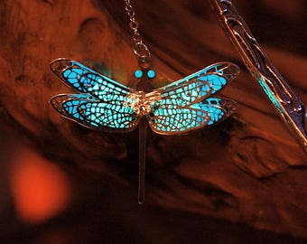 New Dragonfly BOOKMARK 2 Colors GLOW in the DARK - 02
