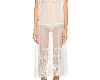 1920s Lace Dress Size: 12