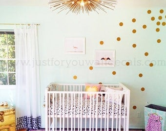3 Inch, Polka Dot Wall Decals, Set of 42 - Polka Dot Wall Decals, Pattern Wall Decals, Playroom Wall Decal, Dot Wall Decals 11-0001