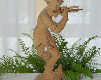 Hand Carved Oberammergau from Germany Kuno Bierling Wood Figurine - Wood Carved Oberammergau