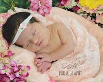 Newborn Nylon Headband/Baby Headband//Photo Prop/Infant Headband/
