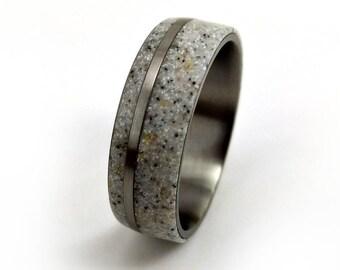 Antler Ring, Deer Antler Ring, Elk Antler Ring, Titanium Antler Ring, Antler Wedding Band, Titanium Men's Ring, Titanium Women's Ring