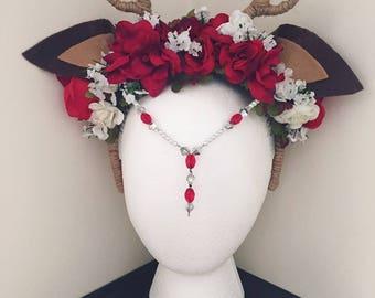 Custom Made Antlers, Custom Order Faux Antlers, Deer Antlers, Personalized Headpiece.