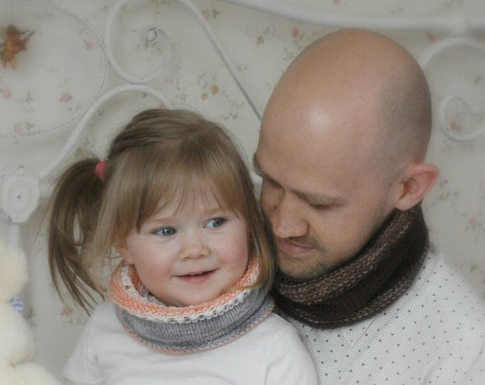 KNITTING PATTERN for cowl / buff Ricky (kids and adult sizes)