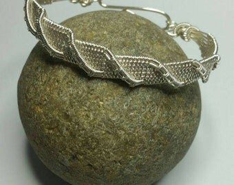 Silver Plated Copper Wire Bracelet
