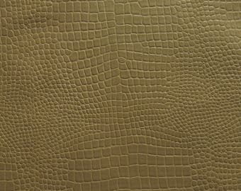 A227 S \ lambskin VINTAGE crocodile Metal old gold - Xl.