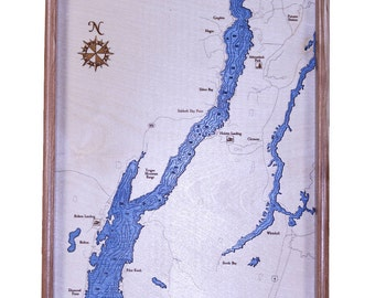 Lake George, New York  Serving Tray