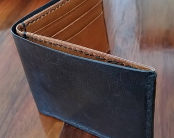 Men's Wallet, Two Tone Kangaroo Leather.