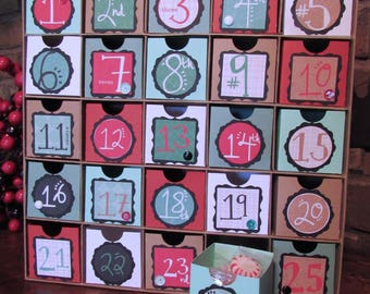 Large Modern Advent Calendar