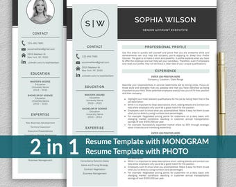 Resume Online Resume Template  Etsy Words To Use For Resume Word with Summary Of Qualifications Resume Examples  Finance Analyst Resume Excel