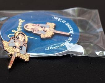 Joan of Arc Enamel Pin / Jeanne D'Arc Lapel Pin