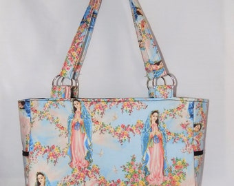 Virgin Mary Bag, Virgen De Guadalupe Bag, SAMPLE SALE