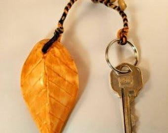 Totally Handmade Wooden Key Chain