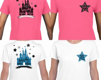 Found My Happily Ever After Shirts | Disney Engagement Shirts | Disney Couple Shirts | Mickey Mouse Quote Shirts | Disney Tank Tops