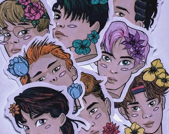EXO KOKOBOP STICKERS