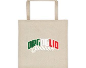 Orgoglio Italiano - Italian Pride Tote bag