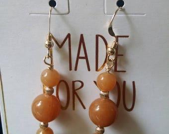 Adventurine Earrings