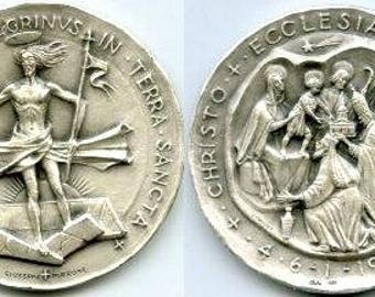 Silver Coin - Pope Paul VI 1964 Pilgrimage to Holy Land