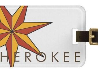 ID/Luggage Tag - Cherokee Star Tsalagi Cherokee Designed