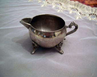 Vintage Silver Plated Creamer