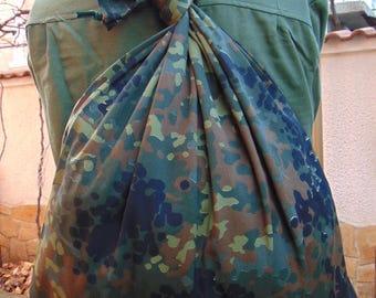 Military Camouflage Canvas Backpack, Army Backpack ,Soldiers Backpack , Vintage Rucksack Backpack ,Military Backpack ,School Bag ,
