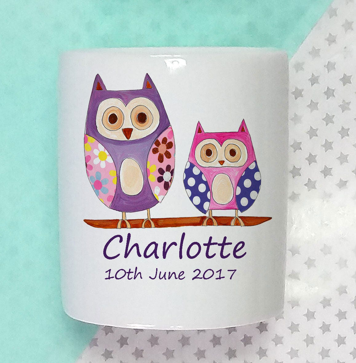 Baby gift money : Personalised money box baby gifts girl