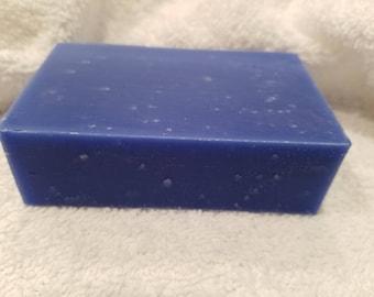 BLUE TEA TREE Essential Oils Soap -  All Natural Cold Process Bar Soap