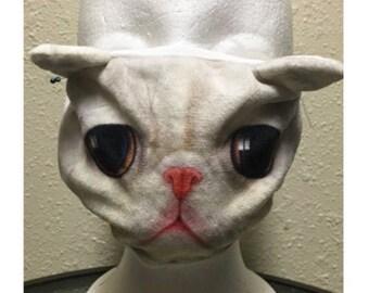 Cat Cotton Mask,handmade face mask , Medical mask , fun mask ,dust mask ,half mask , Cat pattern mask,surgical mask, mouth mask ,flu mask