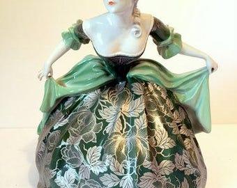 Vintage Rosenthal #206 Rococo Dancer Langenmantel Porcelain Figurine